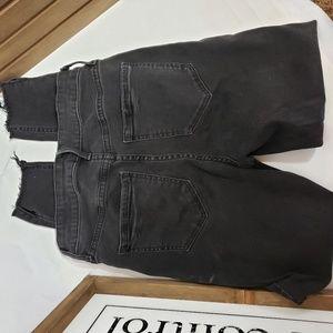 Old Navy Jeans - Black High Rise Old Navy Rockstar Jeans